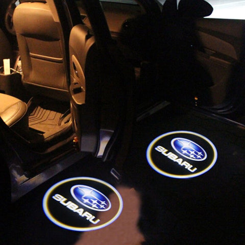Led Car Logo Projector: Wireless Laser Door Projector to Welcome Your Passengers - For Subaru - Beeline-Xpress
