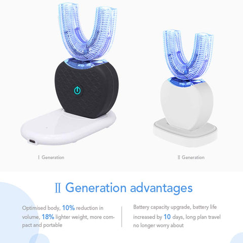 Automatic Ultrasonic Toothbrush: Personal robotic dentist who takes care of your teeth and gums - Beeline-Xpress