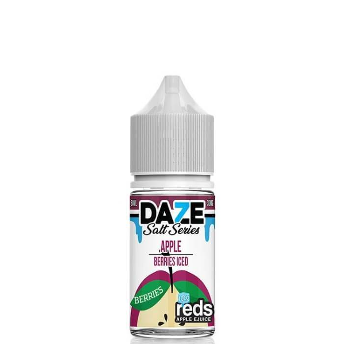 7-Daze Nic Salt: Apple Berries Iced 30mL