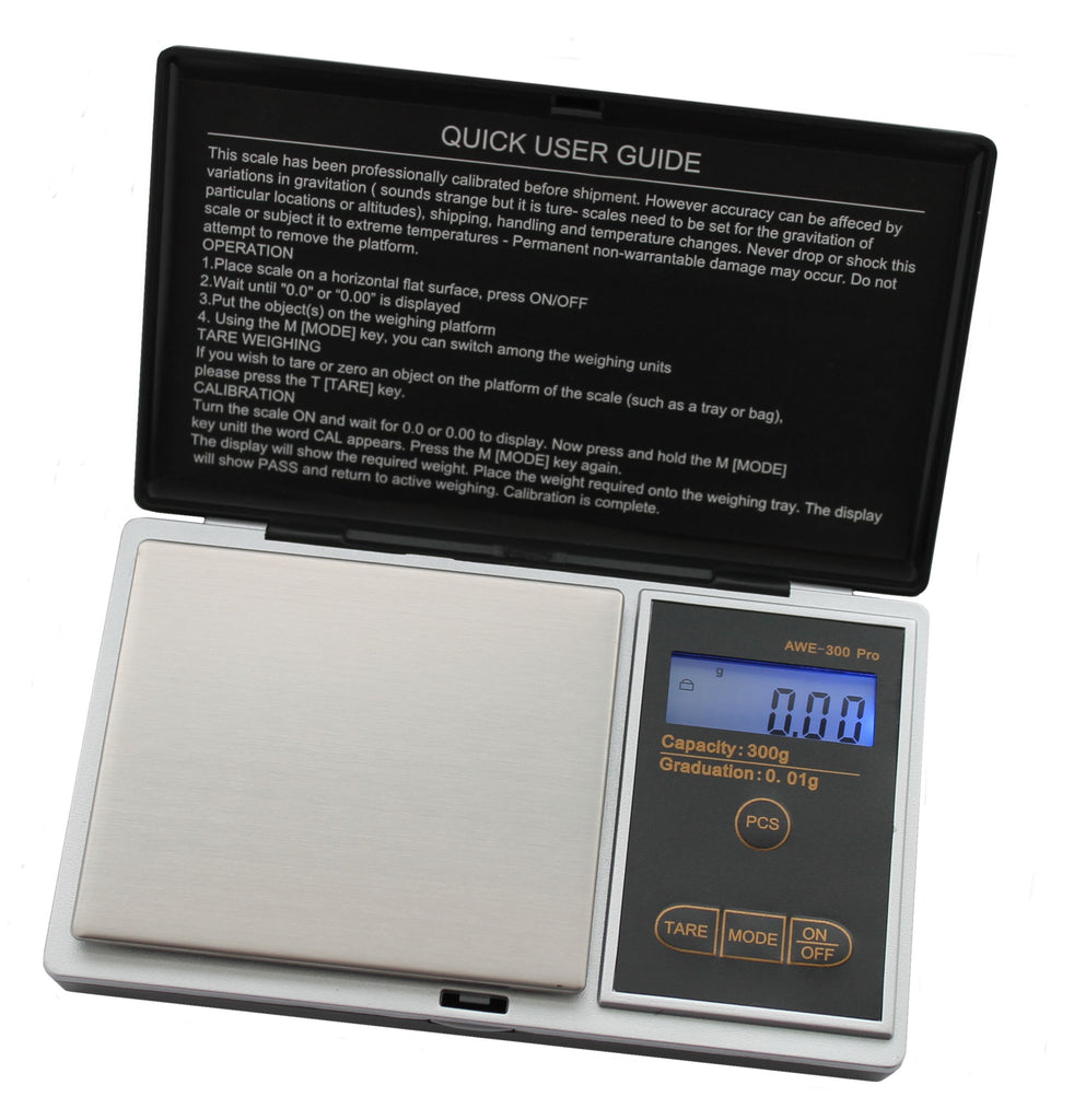 SUPERIOR BALANCE - 100th Gram SCALES: AWE-300