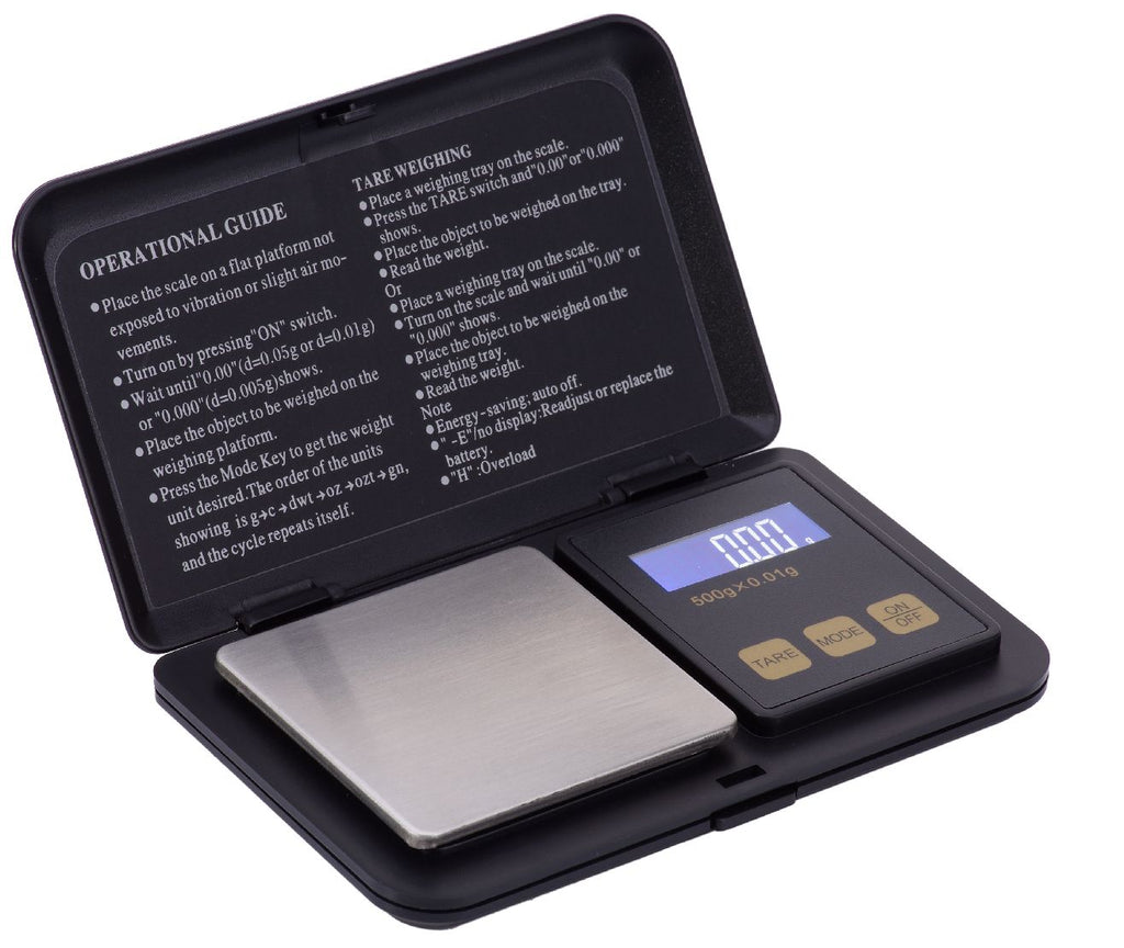 SUPERIOR BALANCE - 100th Gram SCALES: LIGHTNING-500