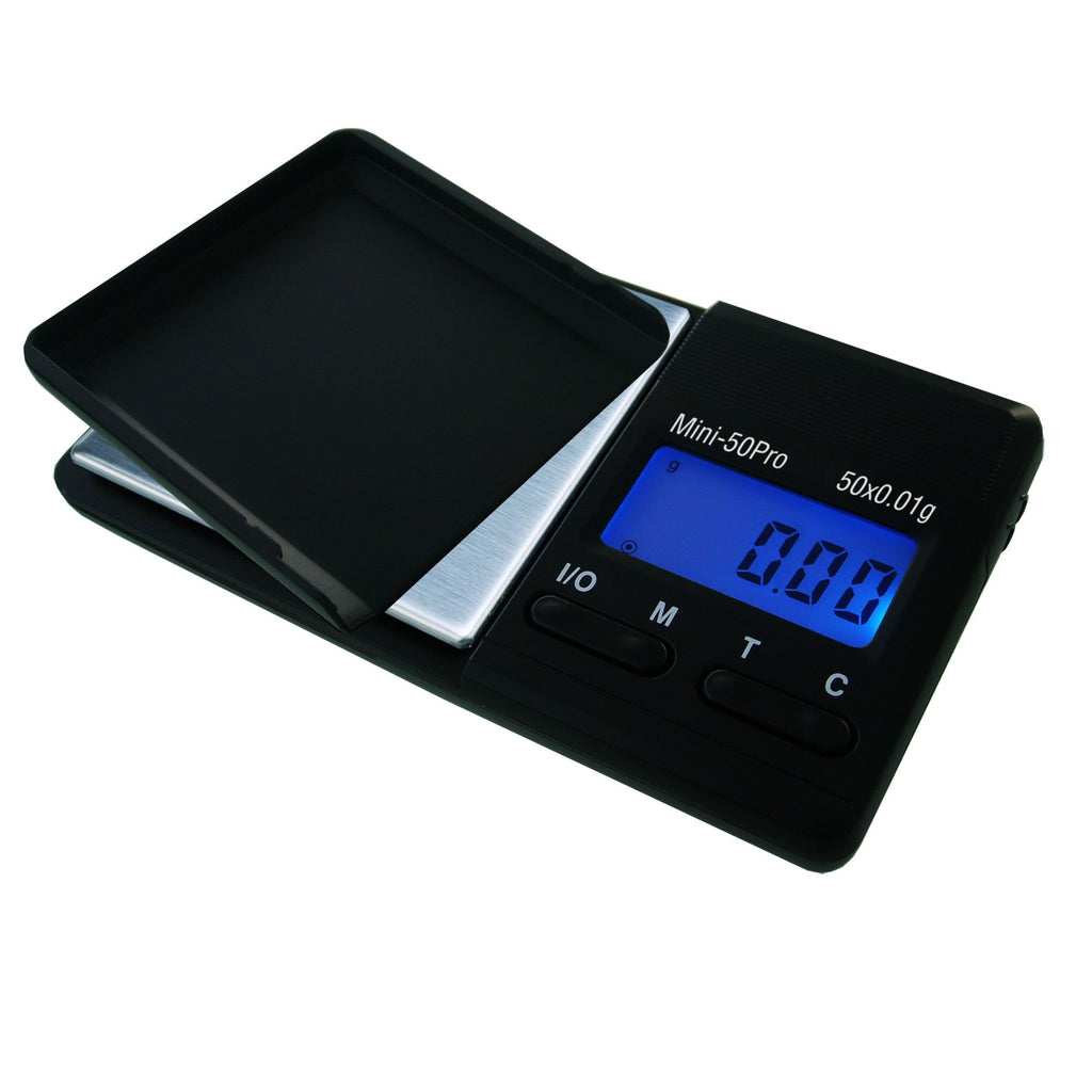 SUPERIOR BALANCE - 100th Gram SCALES: MINI-50 PRO