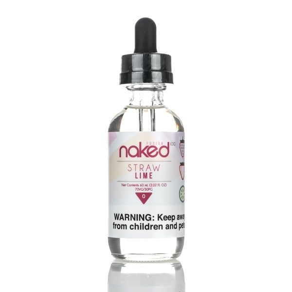 NAKED 100 - STRAW LIME - 60ML