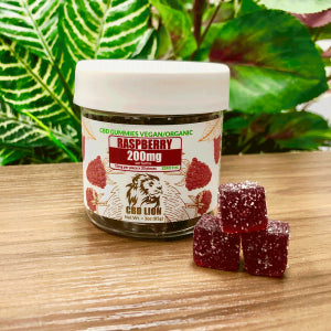CBD LION - CBD GUMMIES 3oz 200mg