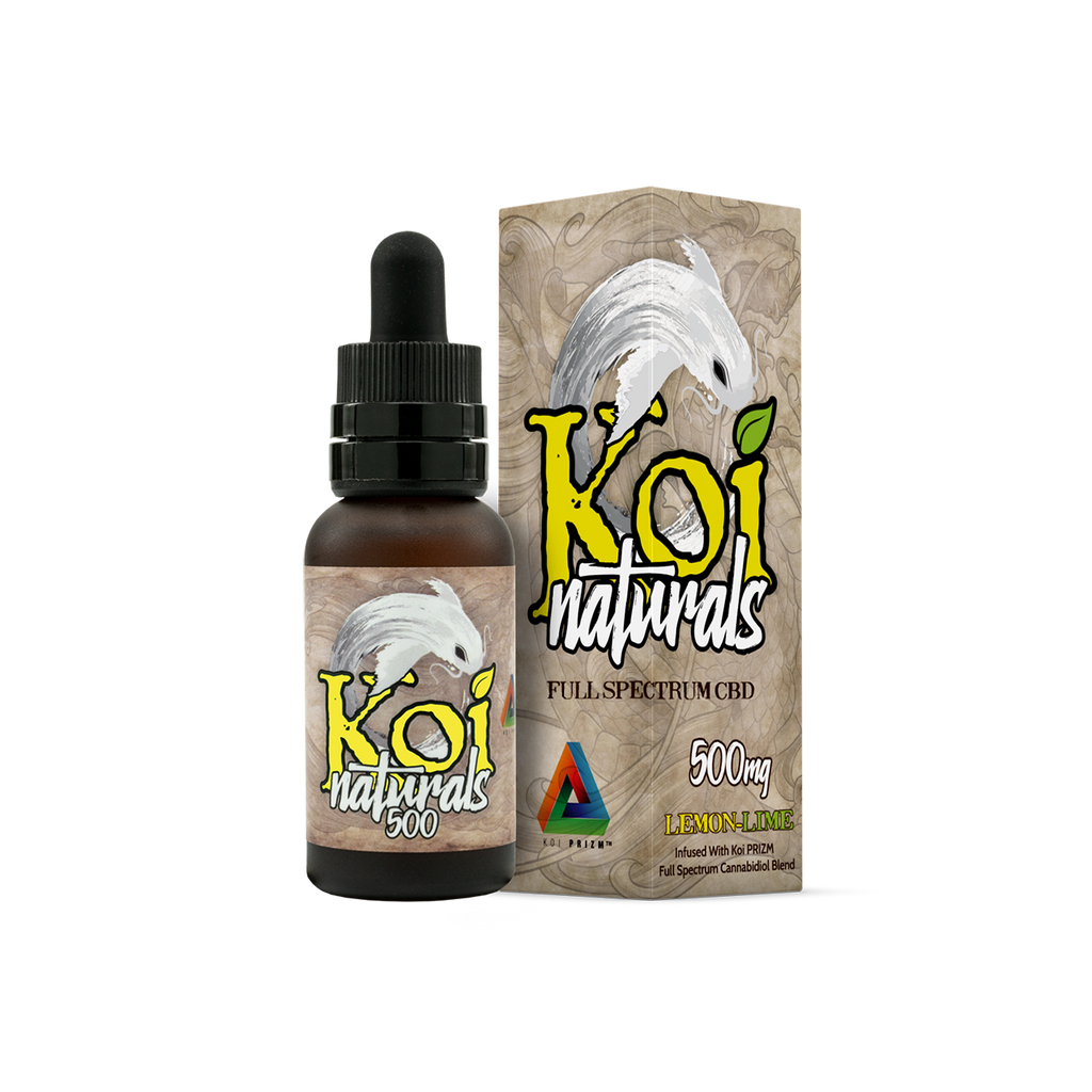 KOI CBD NATURAL OIL TINCTURE: 30ml 2000mg