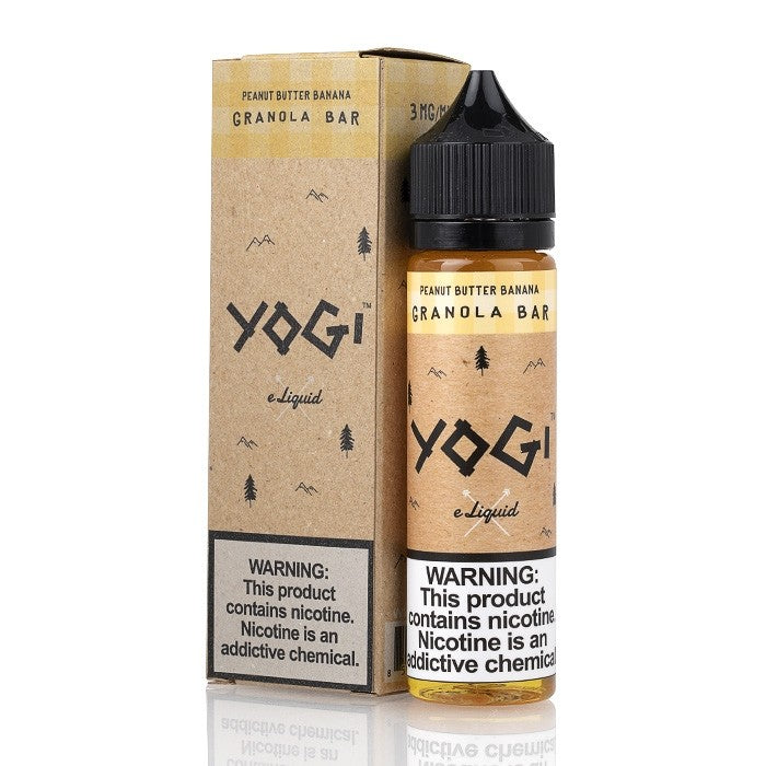 Yogi E-Liquid: Peanut Butter Banana Bar 60mL