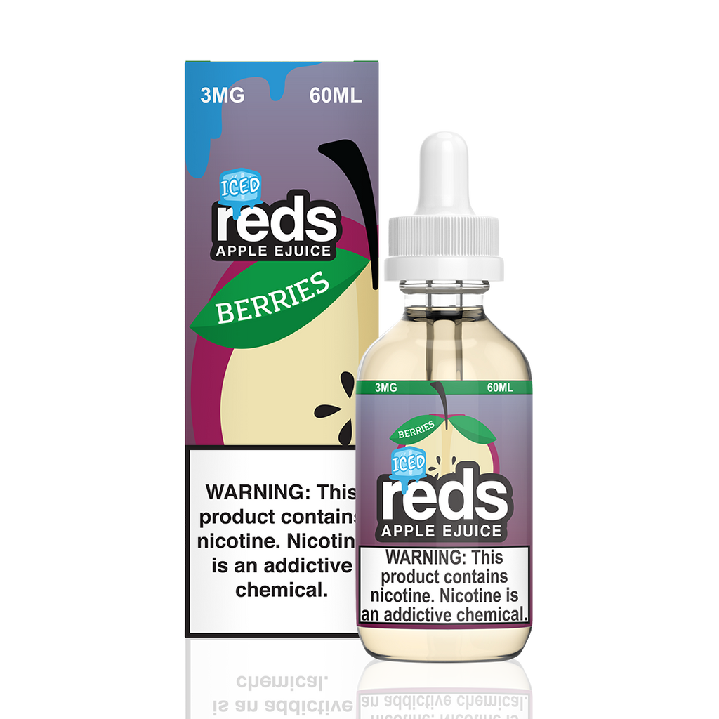 7-Daze: REDS Apple Berries Iced 60mL