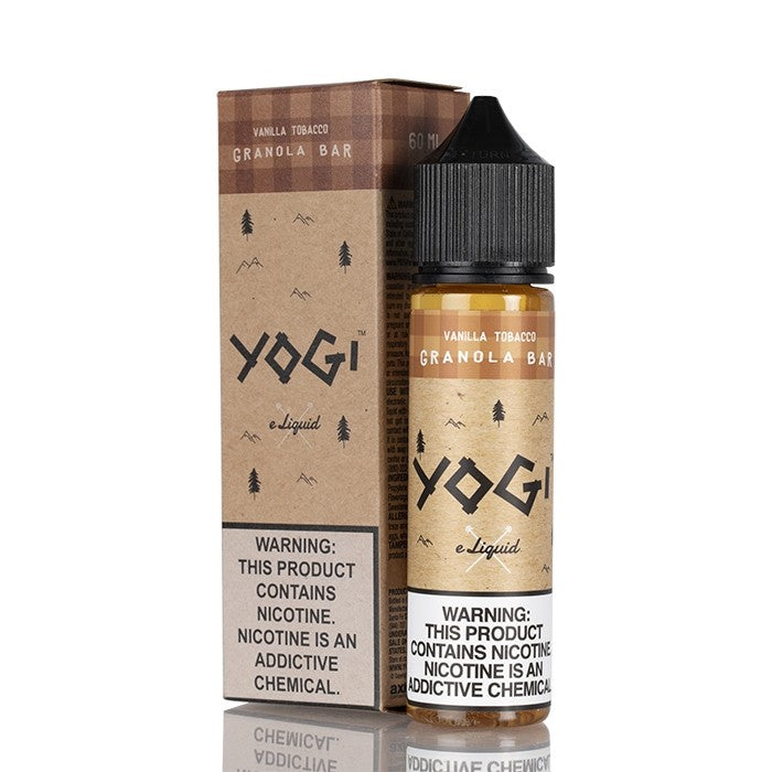 Yogi E-Liquid: Vanilla Tobacco Bar 60mL
