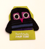 A BIT LOST fair trade owl HAND PUPPET