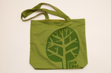 dhukuti fair trade bag green