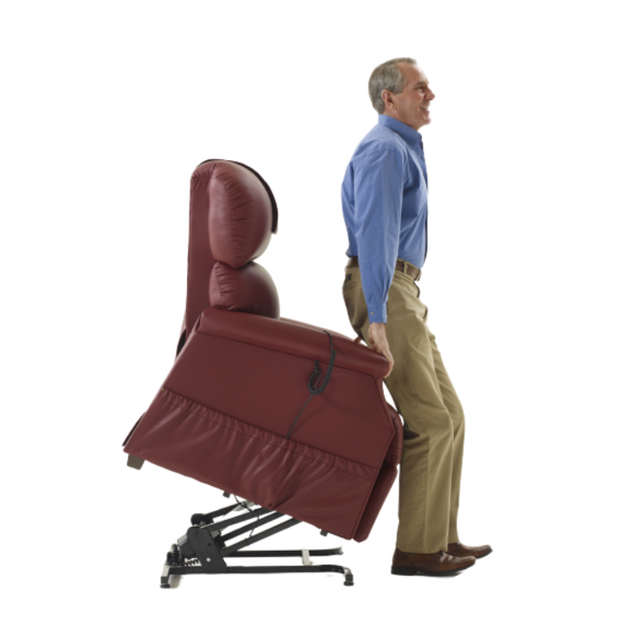 Standard Lift Chair Rental - Standing Position | Dahl Medical Supply