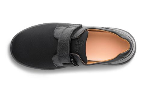 Dr. Comfort Women's Annie, Black Diabetic Walking Shoe - Top View | Dahl Medical Supply