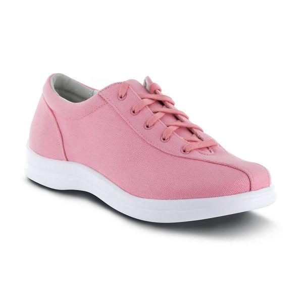 Apex Womens Ellen Causal Diabetic Shoe, Pink - Main Image | Dahl Medical Supply