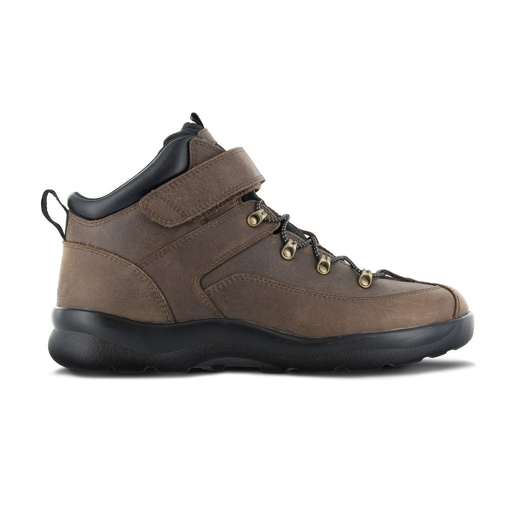 Apex Men's Ariya Diabetic Hiking Boot - Brown | Dahl Medial Supply