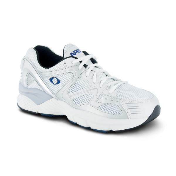 Apex Men's Boss Runner X522M Athletic Shoe, White - Main Image | Dahl Medical Supply