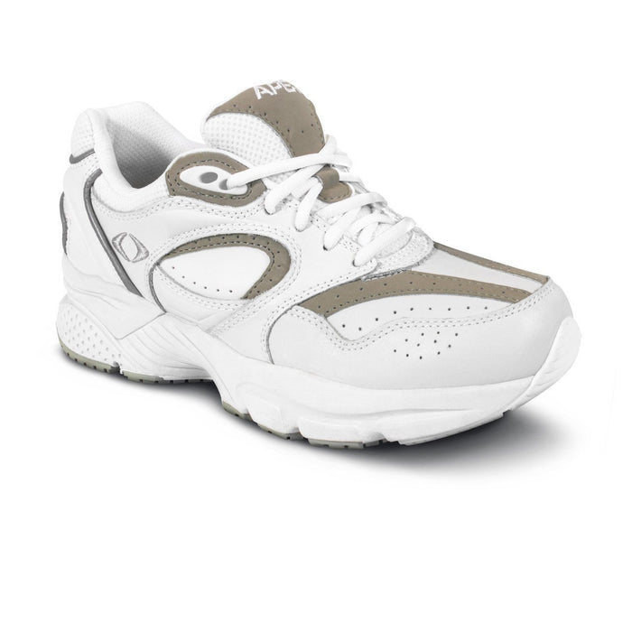 Apex Women's Lace Walker, White/Grey - Main Image