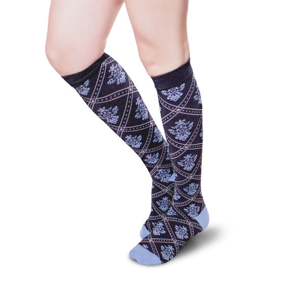 Unisex Royal Pattern Knee High