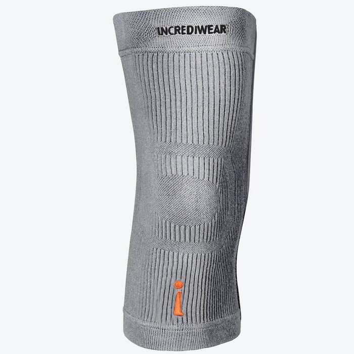 Incrediwear Knee Sleeve, Grey | Dahl Medical Supply