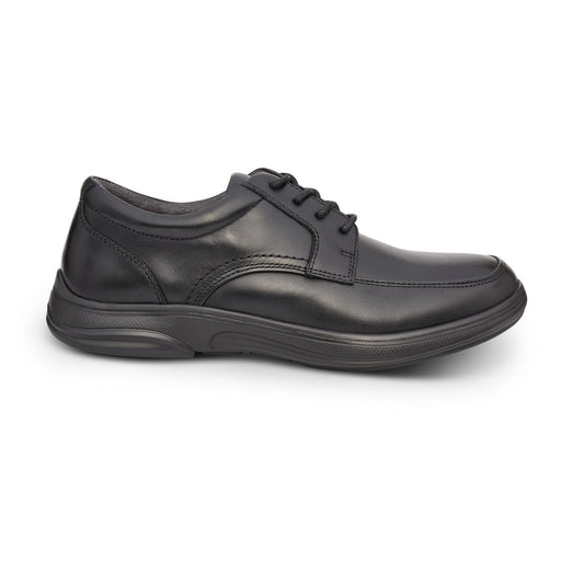 Anodyne Men's No. 12 Diabetic Therapeutic Comfort Casual Oxfort, Black - Side Image