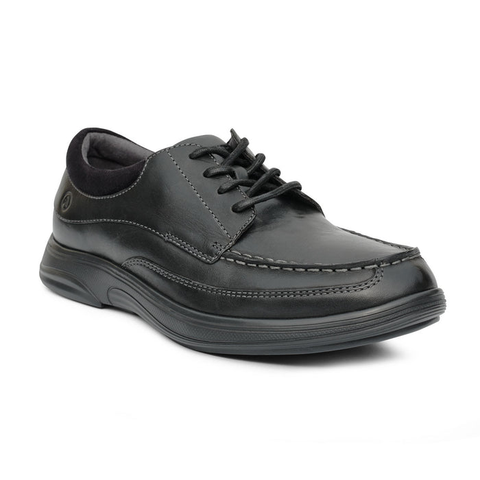 Anodyne Men's No.30 Casual Dress Diabetic Shoe, Black - Main Image