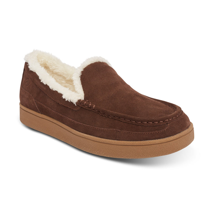 Anodyne Men's No. 34 Diabetic Therapeutic Moc Toe Slipper, Espresso: Main Image