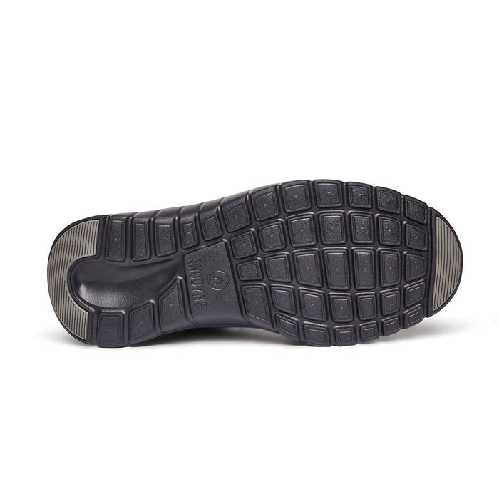 Anodyne Men's No. 50 Diabetic Therapeutic Comfort Sport Trainer, Black - Sole Image
