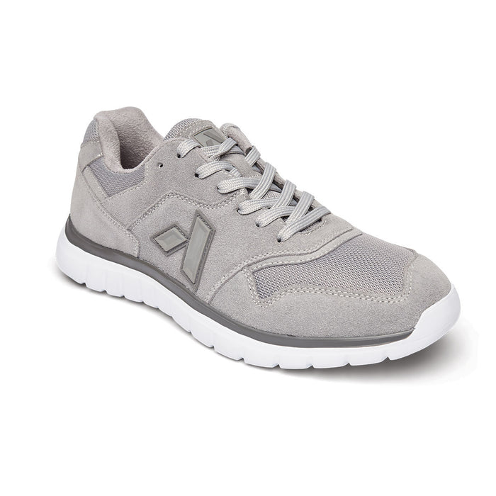 Anodyne Men's No. 50 Diabetic Therapeutic Comfort Sport Trainer, Grey - Main Image