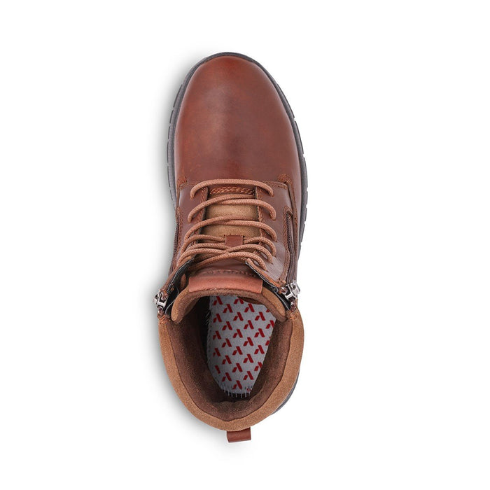 Anodyne Men's No.90 Diabetic Therapeutic Trail Worker, Whiskey - Top Image