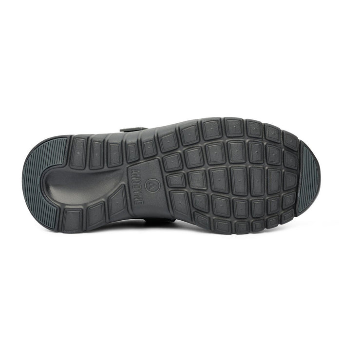 Anodyne Men's No.38 Sport Walker, Black - Sole Image | Dahl Medical Supply