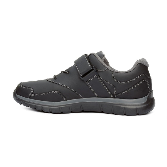 Anodyne Men's No.38 Sport Walker, Black - Left Side Image | Dahl Medical Supply