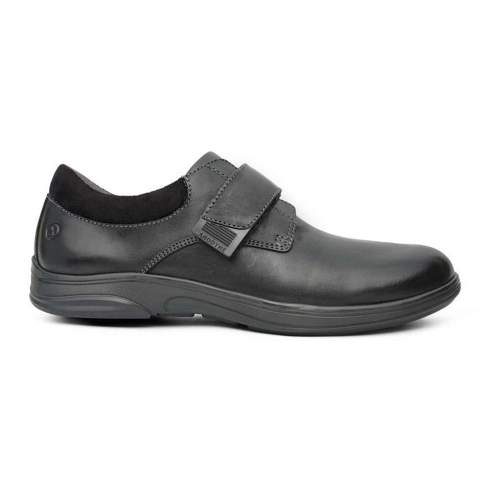 Anodyne No.64 Therapeutic Diabetic Casual Comfort Shoe, Black | Dahlmedicalsupply.com