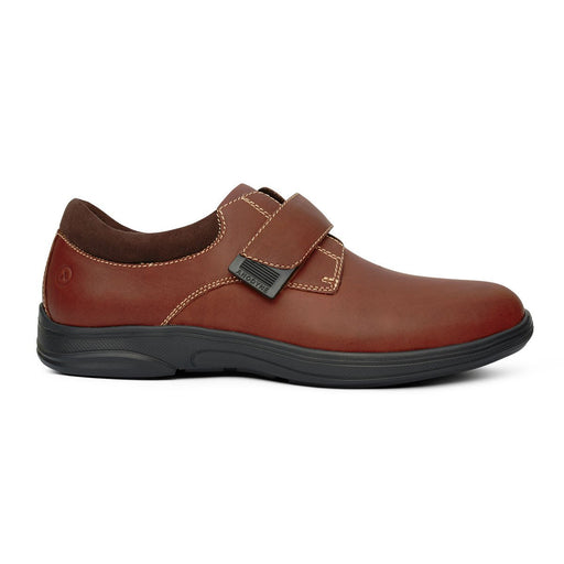 Anodyne Men's No.64 Therapeutic Diabetic Casual Comfort Shoe, Whiskey | Dahl Medical Supply