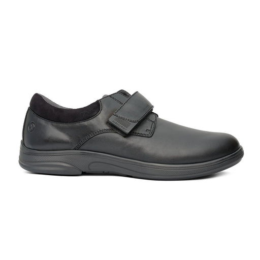 Anodyne No.66 Therapeutic Diabetic Casual Comfort Stretch Shoe, Black | dahlmedicalsupply.com