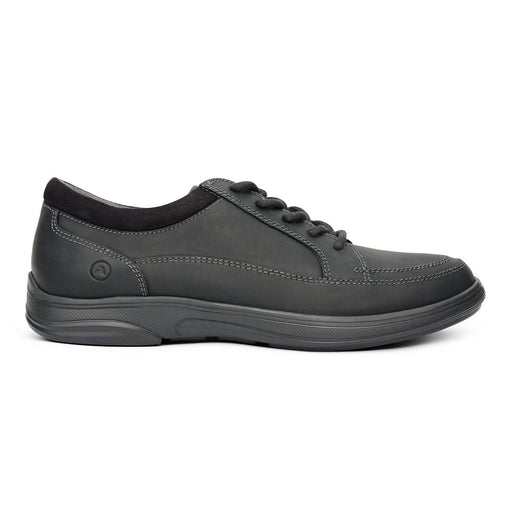 Anodyne No.72 Men's Therapeutic Diabetic Casual Sport Shoe, Oil Black | dahlmedicalsupply.com