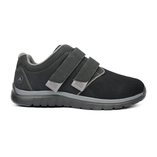 Anodyne No.74 Men's Therapeutic Diabetic Sport Double Depth Shoe, Black | dahlmedicalsupply.com
