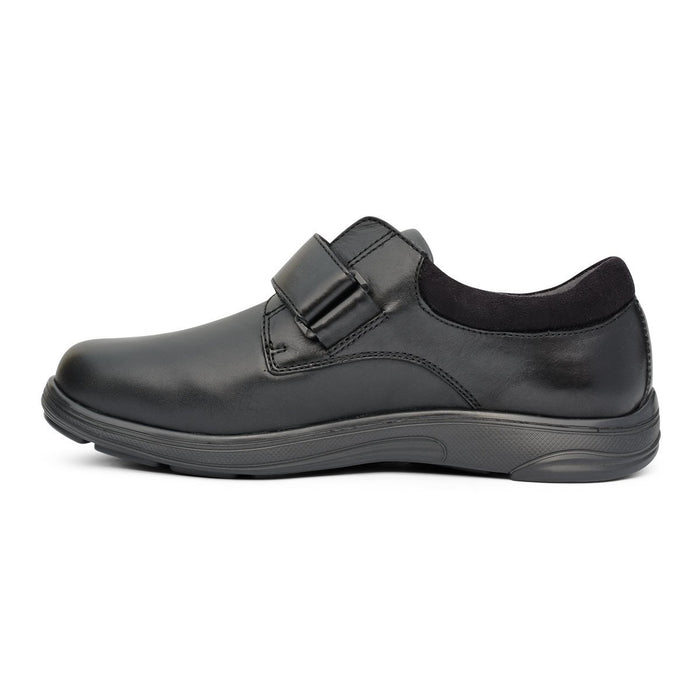 Anodyne No.88 Men's Therapeutic Diabetic Casual Double Depth Shoe - side view | dahlmedicalsupply.com