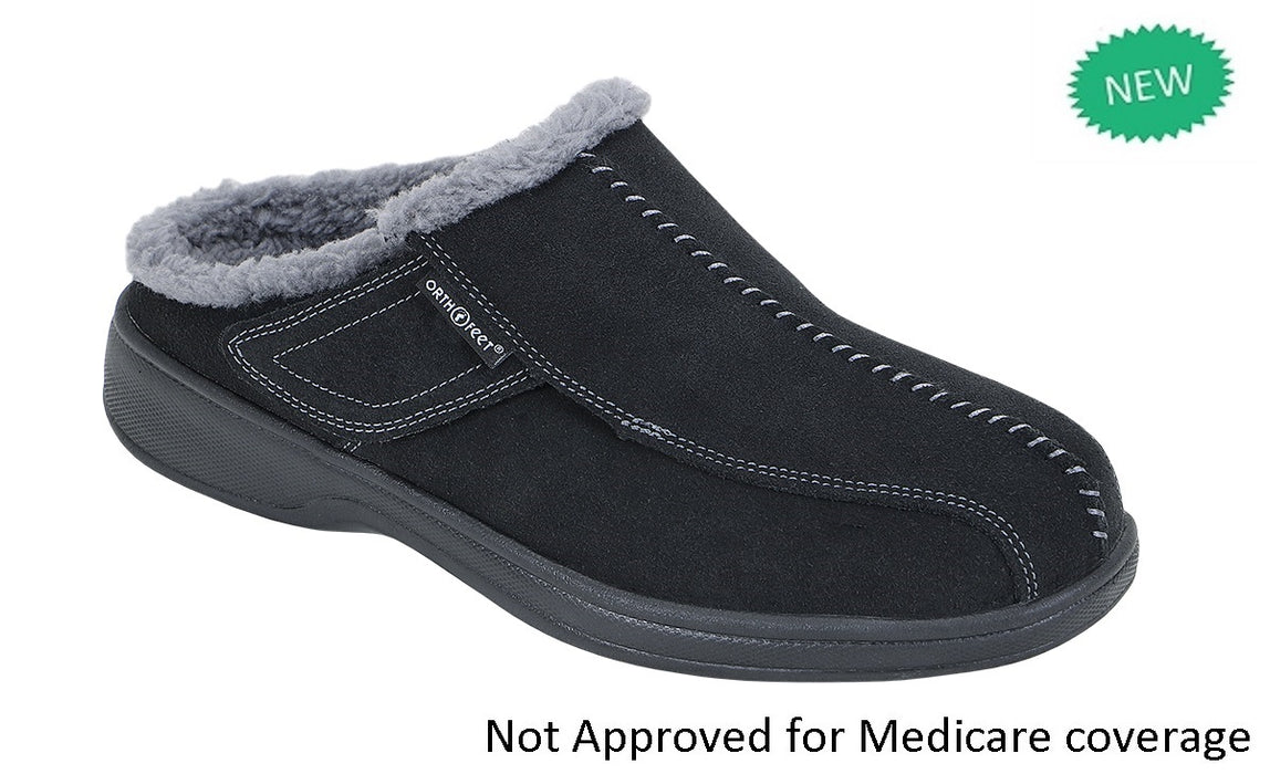 Asheville Men's Slipper - Black