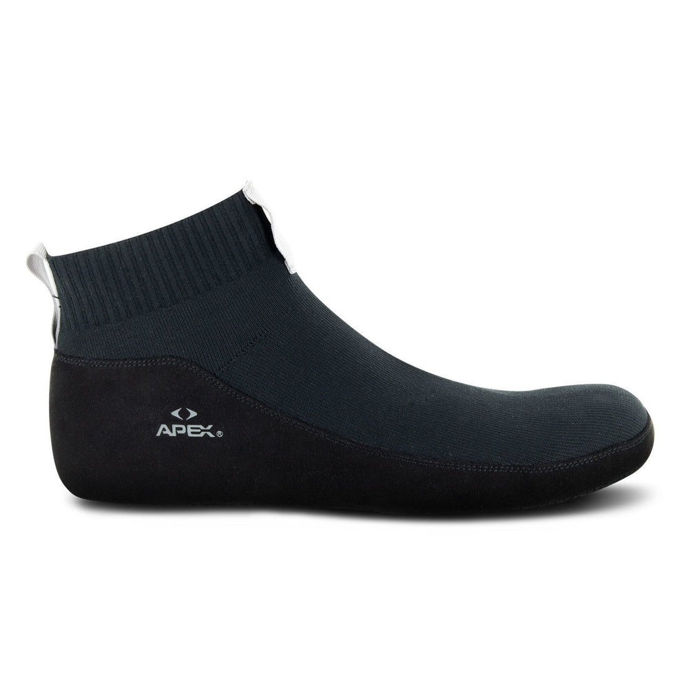 Apex Unisex Basis Slip-On Diaebtic Therapeuitc Slipper - Side Image | Dahl Medical Supply