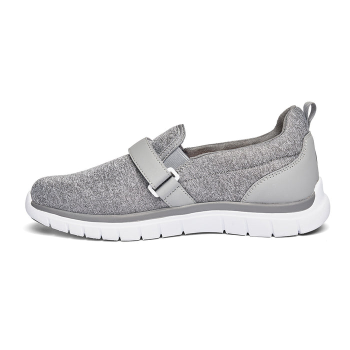 Anodyne Women's No. 11  Sport Trainer - Grey, Left Side Image | Dahl Medical Supply