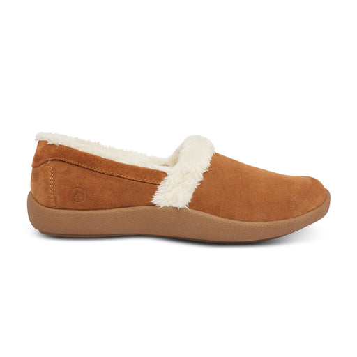 Anodyne Women's No.21 Smooth Toe, Camel - Side View