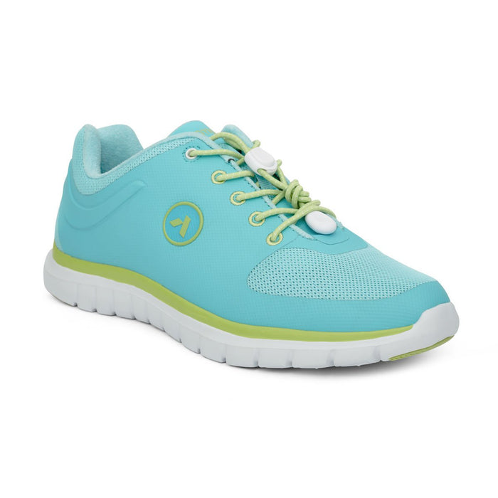 Anodyne No.23 Therapeutic Sport Women's Diabetic Shoes, Lime - Main View