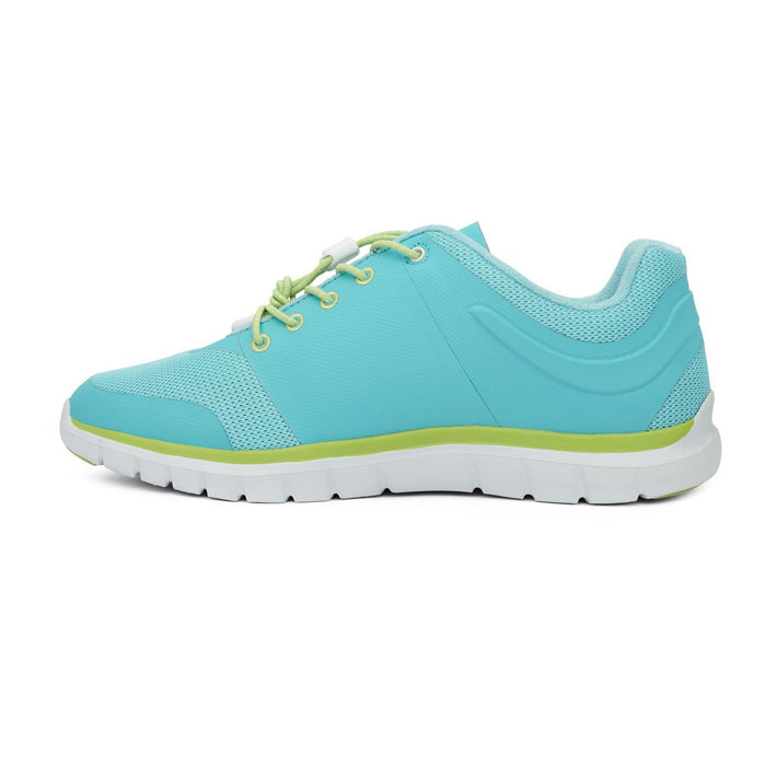 Anodyne No.23 Therapeutic Sport Women's Diabetic Shoes, Lime - Left Side View