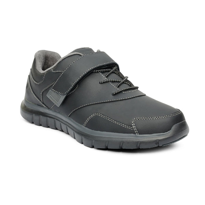 Anodyne Women's No.31 Therapeutic Diabetic Sport Walker Shoe, Black - Main Image | Dahl Medical Supply