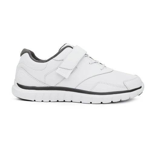 Anodyne Women's No.31 Therapeutic Diabetic Sport Walker Shoe, White - Right Side Image | Dahl Medical Supply