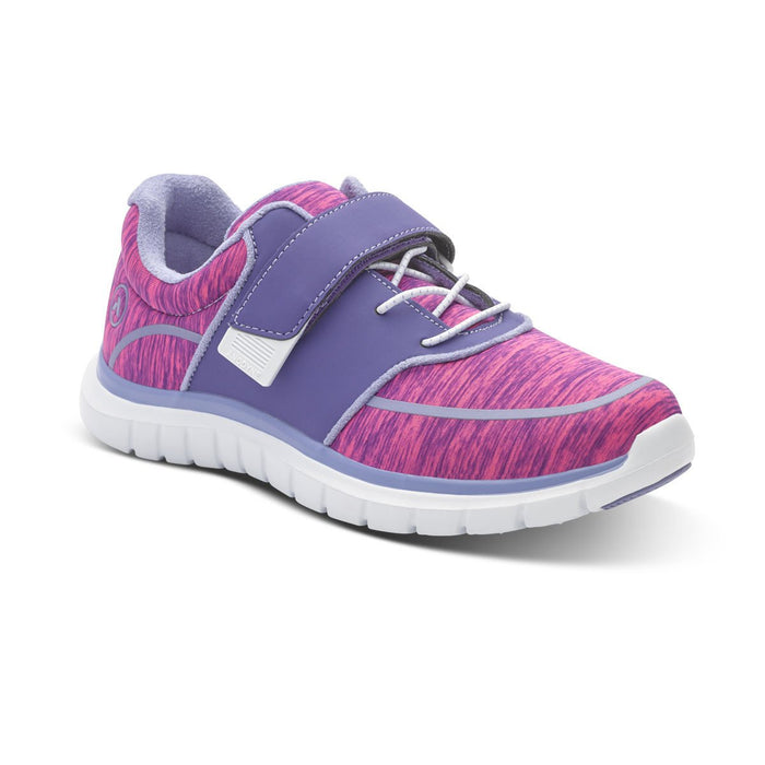 Anodyne Women's No.45 Diabetic Sport Jogger, Purple/Pink - Main Image | Dahl Medical Supply
