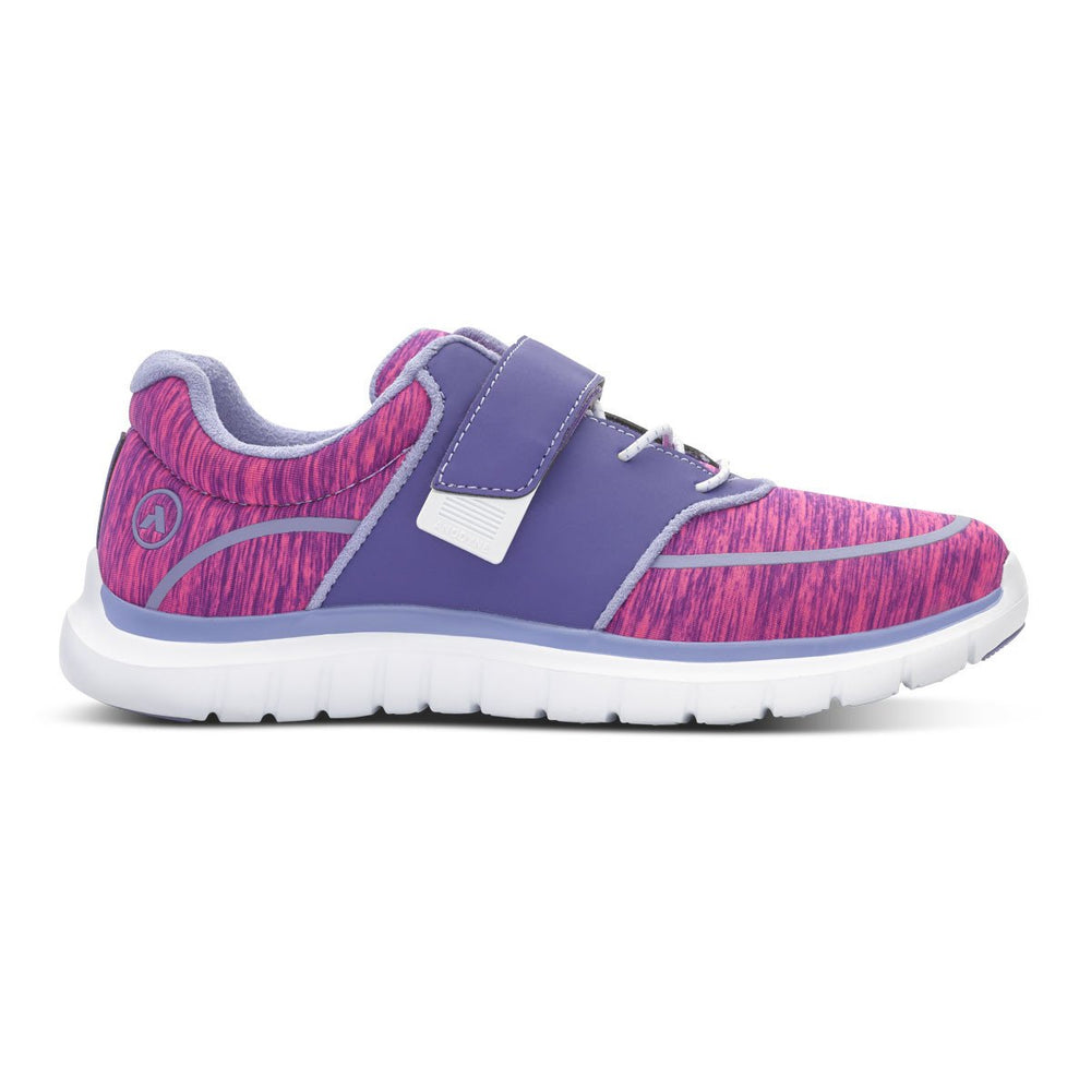 Anodyne Women's No.45 Diabetic Sport Jogger, Purple/Pink - Right Side Image | Dahl Medical Supply