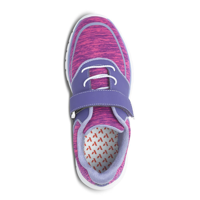 Anodyne Women's No.45 Diabetic Sport Jogger, Purple/Pink - Top Image | Dahl Medical Supply