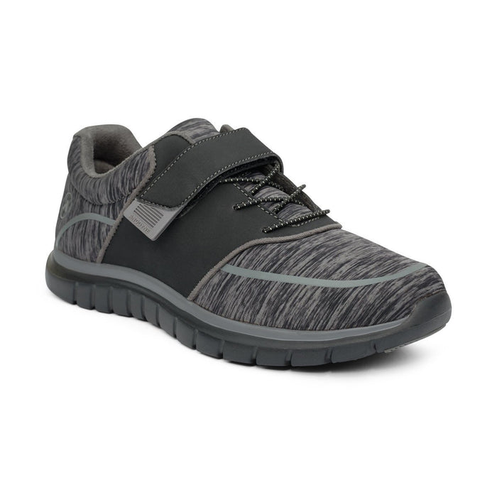 Anodyne Women's No.45 Diabetic Sport Jogger , Black/Grey - Main Image | Dahl Medical Supply
