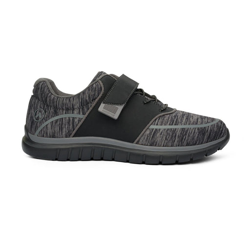 Anodyne Women's No.45 Sport Jogger, Black/Grey - Right Side Image | Dahl Medical Supply