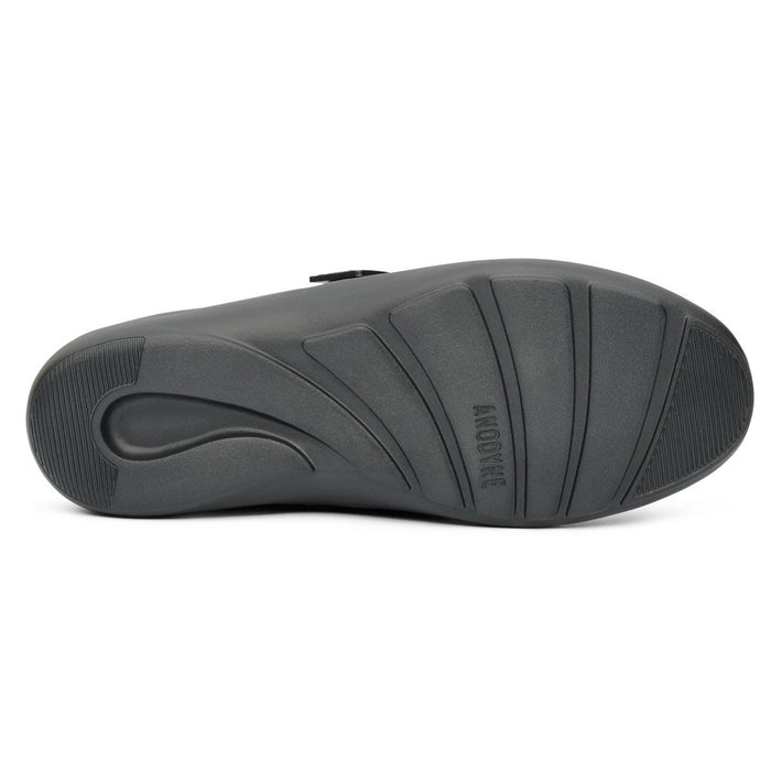 Anodyne No.63 Therapeutic Diabetic Orthopedic Casual Comfort Stretch Shoe - bottom view | Dahlmedicalsupply.com